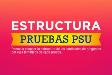 ESTRUCTURAS PRUEBAS PSU