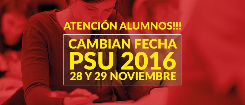 PSU: RECTORES RETRASAN APLICACIÓN DEL TEST PARA 28 Y 29 DE NOVIEMBRE