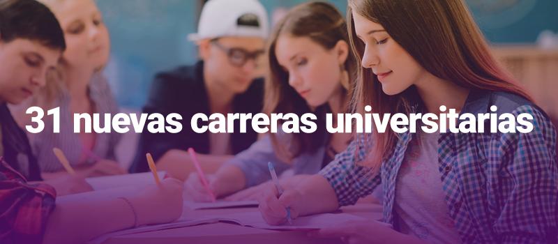 Preuniversitario Preutech: Anuncian treinta y un nuevas carreras universitarias para proceso PSU 2019